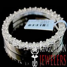 Real Genuine Diamond 41mm Rolex Watch Custom Bezel Solid 10K White Gold Finish