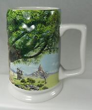"Disney Animal Kingdom Beer Mug Stein Clive Kay Painting 3D design 6"" tall"