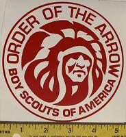 Order Of The Arrow MGM Logo Vinyl Car Decal