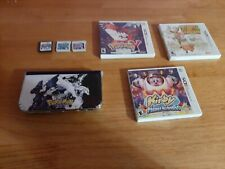New Nintendo 3DS XL Lot - Red w/ Charger Case  6 Games