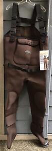 Allen Rock Creek Men Stockingfoot Chest Wader Size M Adjustable Suspenders NWOB