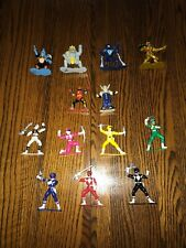 1993 Vintage Mighty Morphin Power Rangers Micro Characters (Pre-Owned)