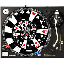 Portable Products Dj Turntable Slipmat 12 inch - Poker Stash