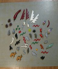 Large used lot of Lego animals, animal pieces, etc.