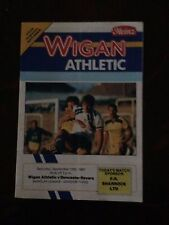 Wigan Athletic v Doncaster Rovers programme 1987/88