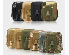 Mens Military Tactical Waterproof Waist Pack Purse Mini Pouch Outdoor Sport Bags