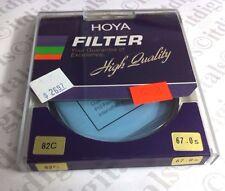 67mm Hoya 82C 82-C 82 C Blue Glass Color Correction Lens Filter 67 mm Japan OEM