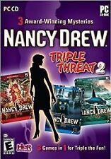 Nancy Drew Triple Threat 2 (PC, 2012)