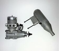 HB 40 Ringed RC Glow Nitro Model Airplane engine with Muffler .40 cu.in.