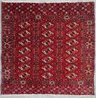 Antique rug/carpet Afghan Turkoman Central Asian Tribal Oriental Tekke 1880
