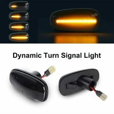 2x Dynamic LED Side Marker Turn Signal Light For V-auxhall OPEL Zafira A Astra G