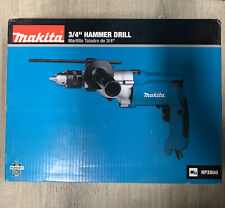 Makita Hammer Drill Torque 34 In Corded Limiter Side Handle Depth Gauge Case