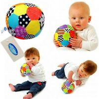 Playgro Baby Toddler Kids Children Soft Plush Rattles Soccer Ball Crib Sport Toy