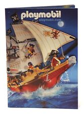 2007 Playmobil PIRATE SHIP COVER CATALOG - Brand new! [LAST ONE!] - 43 Pages