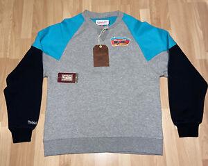 New Mens Mitchell And Ness NBA San Antonio Spurs Sweatshirt Size Small MSRP $80