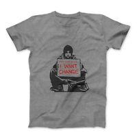 Banksy Keep Your Coins, I Want Change T-Shirt