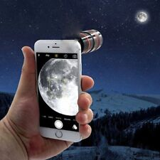 Gex HD 8 X Zoom F1.1 Phone Clip-on Telescope Camera Lens For iPhone Samsung