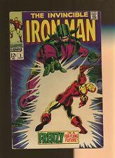 Iron Man 5 VG+ 4.5 * 1 Book * Frenzy In A Far-Flung Future! Goodwin & Tuska!
