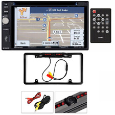 Jensen VX6628 Double DIN Bluetooth, Navigation InDash Car Stereo Rearview Camera
