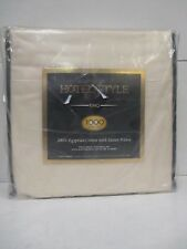 HOTEL STYLE KING SIZE 1000 THREAD COUNT SHEET SET - IVORY - RC 6780