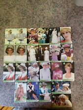 Princess Diana Limited Edition Phone Cards. 23 cards 3 repeats. UK freecall