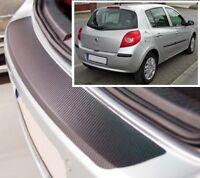 Renault Clio MK3 - Carbon Style rear Bumper Protector