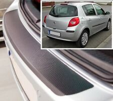 Renault Clio Mk3 - Carbone Style Pare-Chocs Arrière Protection