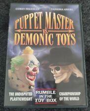 Puppet Master Vs. Demonic Toys (DVD, 2006)