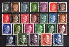 6040-GERMAN EMPIRE-1941-45.WWII.Adolf HITLER.Mich 781-798 MNH** Deutsches Reich