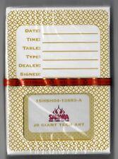 SEALED Sahara Playing Cards Las Vegas hotel casino Card gold yellow deck NOS New