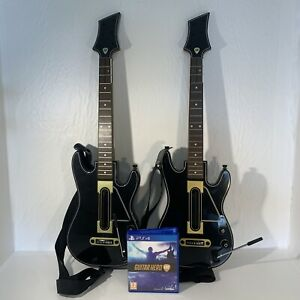 Guitar Hero Live Supreme Party Edition (PS4) Game and 2 Guitars With X2 Dongles