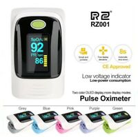 Fingertip Pulse Oximeter Blood Oxygen Meter SpO2 Heart Rate Monitor Health Care