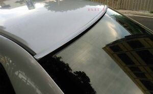 Silver Color Painted Fit 2006-2011 BUICK LUCERNE-Rear Window Roof Spoiler