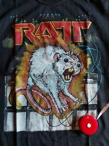 RATT SHIRT OUT OF THE CELLAR TOUR SHIRT SMALL TAWNY KITAEN JUDAS PRIEST WARRANT