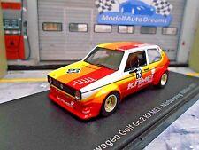 VW Volkswagen Golf MKI GTI Kamei Nürburgring 1977 #63 Gr.2 Rennei NEO TOP ! 1:43