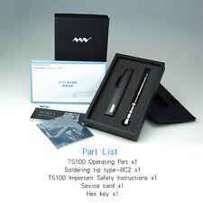 TS100 Mini Soldering Iron TS BC2 Kit Portable Programable Digital Design Tool