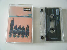 OASIS ROLL WITH IT CASSETTE TAPE SINGLE CREATION [UK] [1995]