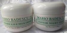 New listing Mario Badescu Vitamin A-D-E Neck Cream,Caviar Night Cream & 2 Free Samples