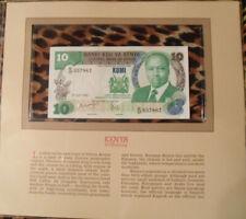 Most Treasured Banknotes Kenya 10 Shillings 1985 P 20d UNC prefix E/37