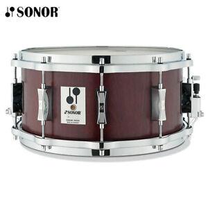 Sonor Phonic Reissue 14 x 6.5 Beech Snare Drum Mahogany Veneer D516MR-PHONIC-SD
