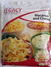 LEGACY Freeze-Dried Dehydrated Prepper Emergency Survival Food Mac & Cheese 1pk