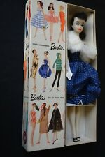 Vintage Barbie Ponytail Doll # 3 with Gay Parisienne Box and Dress