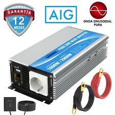 Inversor de energía de onda sinusoidal pura 1000W DC 12V a AC 220V 230V GIANDEL