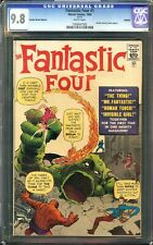 Fantastic Four #1 CGC 9.8 Origin Marvel 1st SUPER-HERO TEAM JACK KIRBY Cover GRR