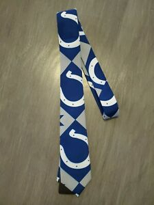 NFL Team Apparel Indianapolis COLTS Men's Neck Tie NWT Free Shipping
