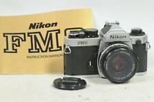 Nikon FM2 with 50mm F1.8 Lens & Cap