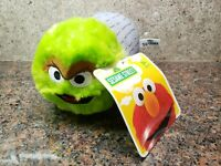 New Oscar the Grouch Stackable Plush Toy Sesame Street Doll Figure Tsum Tsum