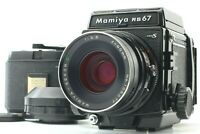 【 Exc+5 】 MAMIYA RB67 Pro S w/ SEKOR C 90mm f/3.8 Lens 120 Film back from JAPAN