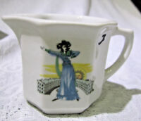 Duraline grindley Hotelware co Made in England Cream Pitcher