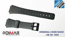VINTAGE CASIO ORIGINAL STRAP/BAND/CORREA AB-30  NOS